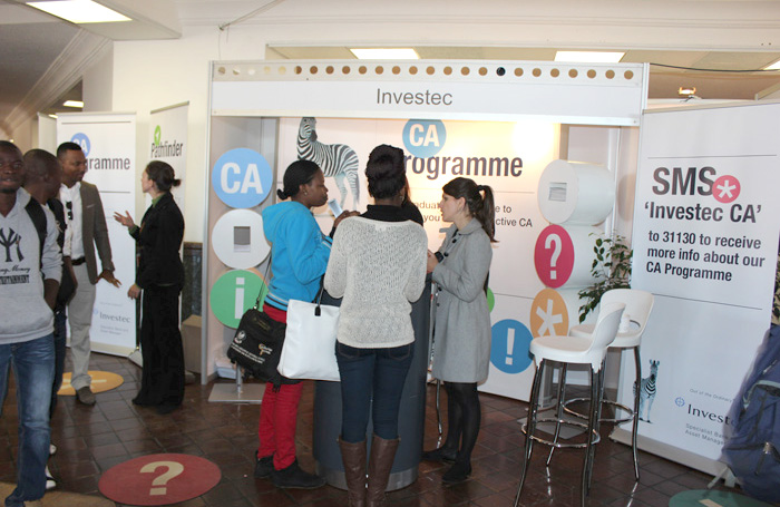 Investec With clients